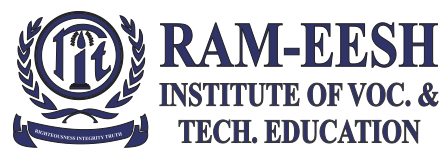 5 Assistant Professor Post Vacancy - Ram-Eesh Institute of Vocational and Technical Education